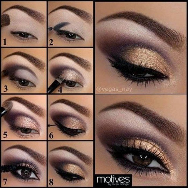 Идеи для макияжа карих глаз