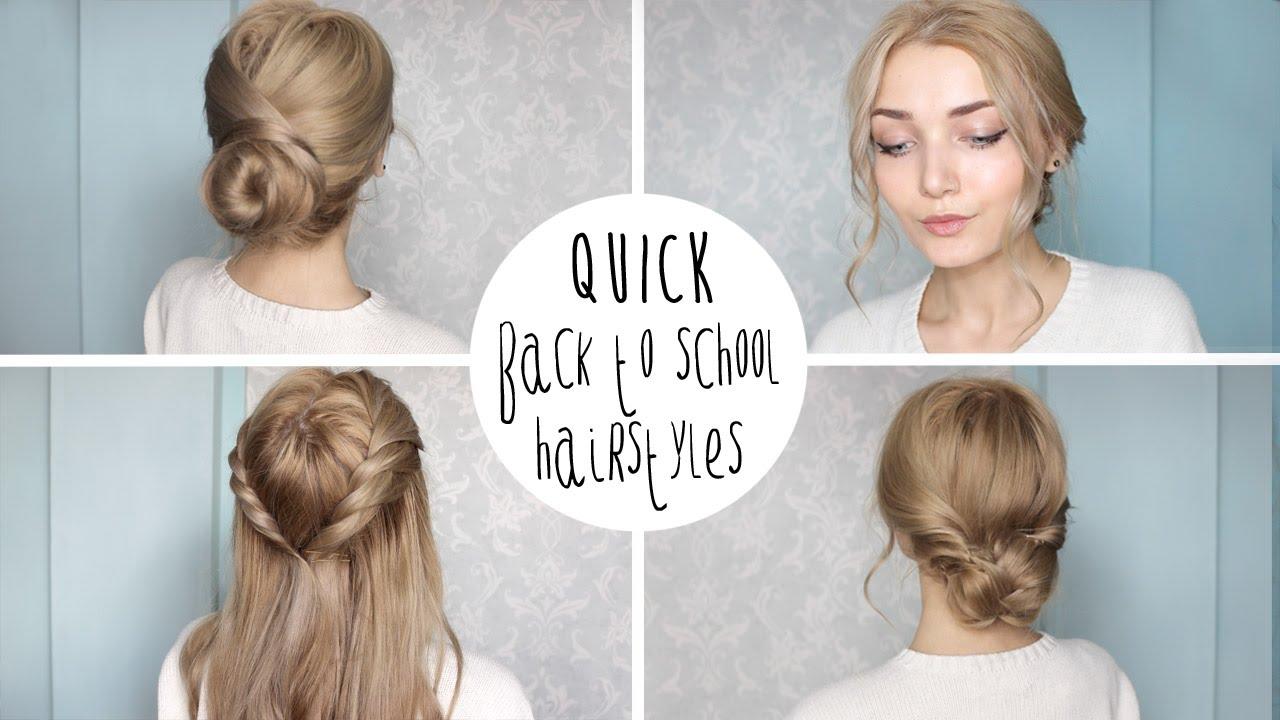 Easy Cute Back To School Hairstyles Flawlessend