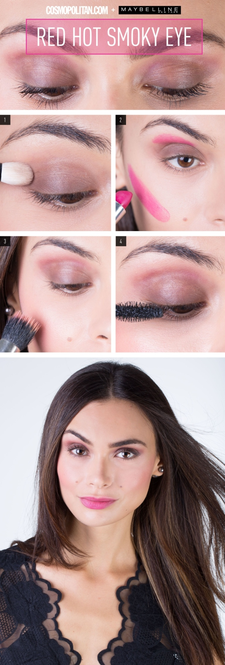 How To Get A Flawless Monochromatic Makeup Look