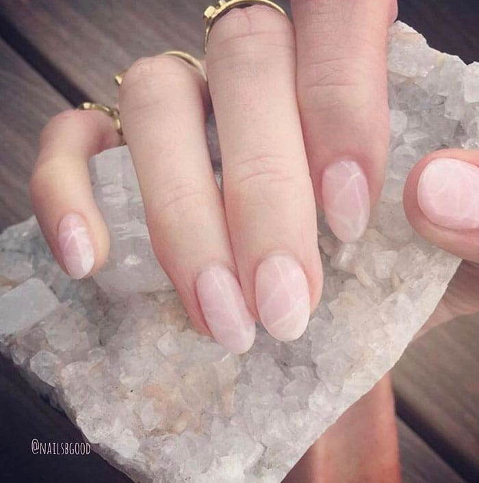 Check Out The Latest Instagram Nail Trend, Quartz Nails 2