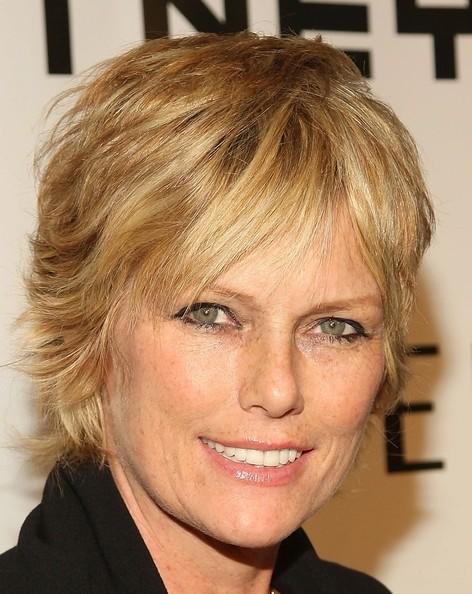 Patti Hansen Blond Layered Haircut