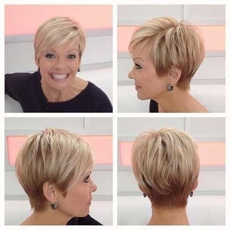 Easy Short Hairstyle for Women