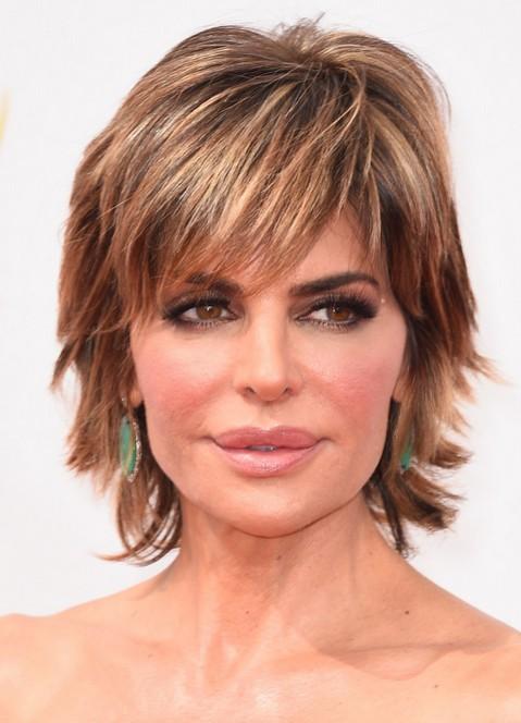 Lisa Rinna Short Choppy Haircut