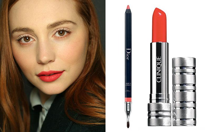 poppy c copyClinique High Impact Lip Colour Peach Pop