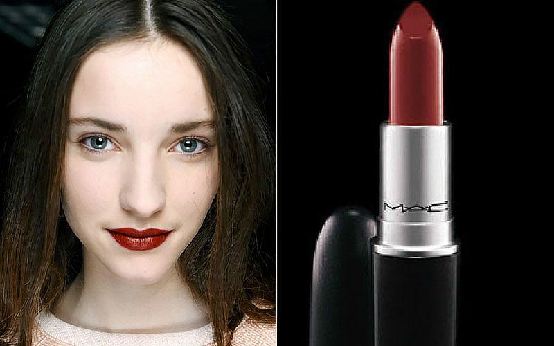 Brick Lipstick Trend 2015