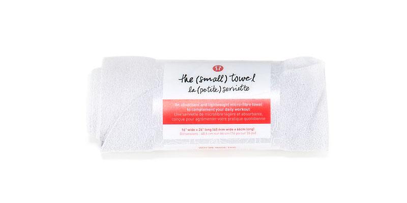 petite microfiber towel from lululemon