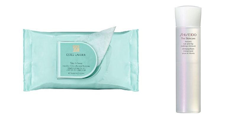 Shiseido Estee Lauder makeup remover
