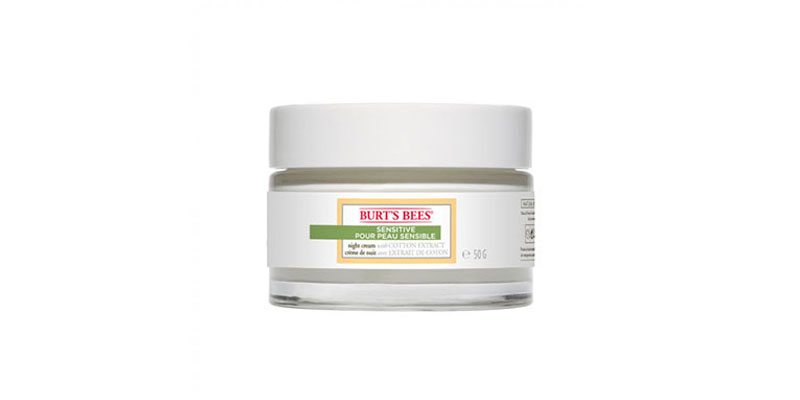 Burt's Bees' Sensitive Night Cream