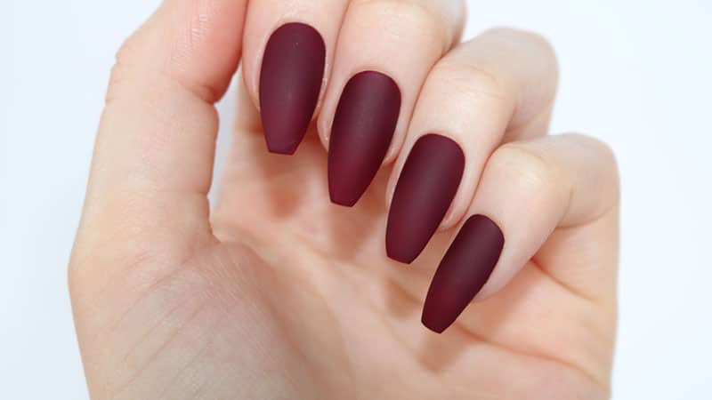 Coffin and Ballerina Nail Shape