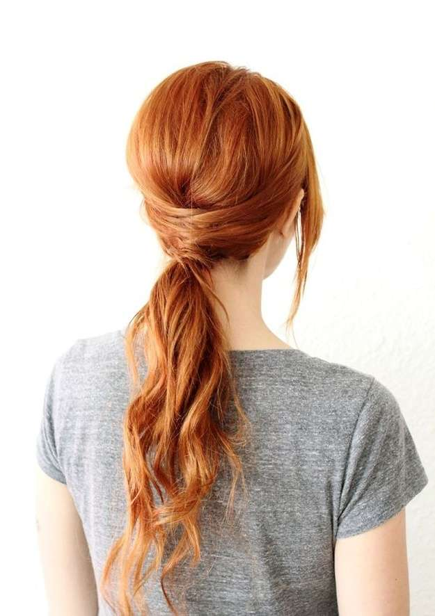 Twisted Ponytail | Homecoming Dance Hairstyles Inspiration Perfect For The Queen