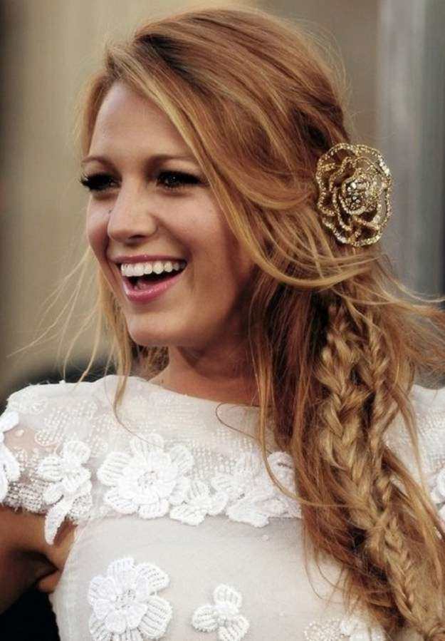 Loose Side Braids | Homecoming Dance Hairstyles Inspiration Perfect For The Queen