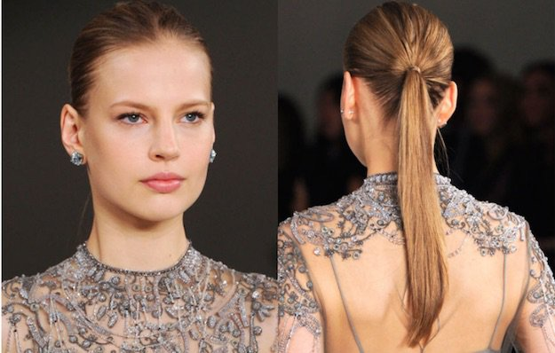 Classic Ponytail | Homecoming Dance Hairstyles Inspiration Perfect For The Queen