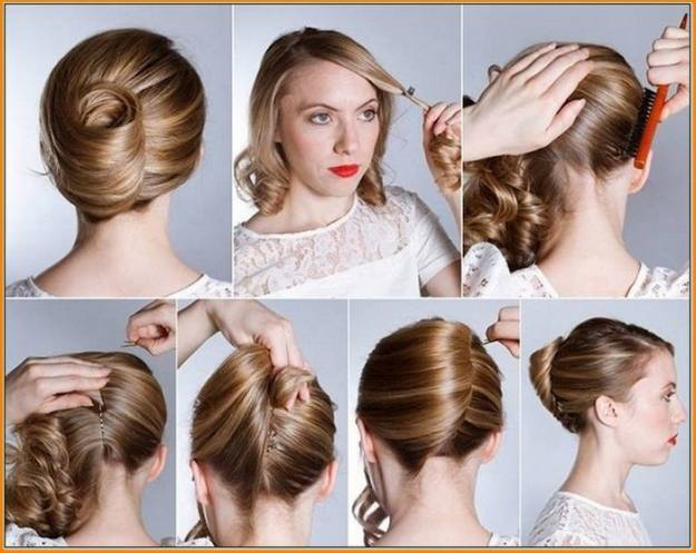 Classic Updo | Homecoming Dance Hairstyles Inspiration Perfect For The Queen