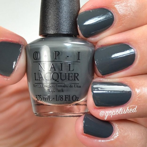 OPI, Liv In The Grey | Gorgeous Fall Nail Colors You Should Definitely Try