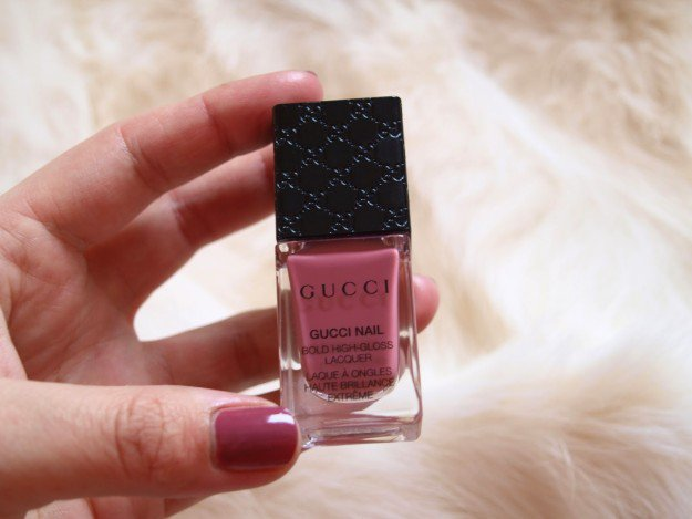 Gucci, Sinful Blush | 30 Gorgeous Fall Nail Colors You Should Definitely Try