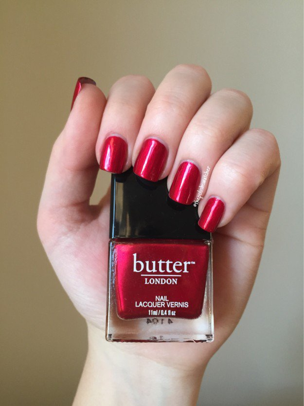 Butter, Knees Up | 30 Gorgeous Fall Nail Colors You Should Definitely Try