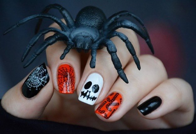 Halloween Ready | Top 10 DIY Halloween Nail Art Ideas