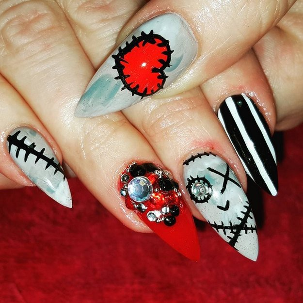 Do You Voodoo | Top 10 DIY Halloween Nail Art Ideas