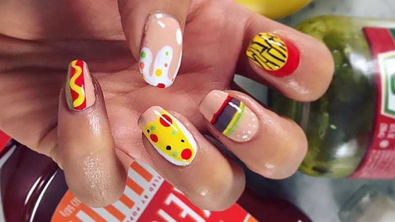 Shay Mitchell's Edible Nails - Nail Art