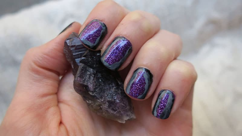 Gorgeous Geodes- Nail Art