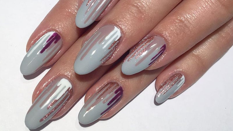 Dripping Polish- Nail Art