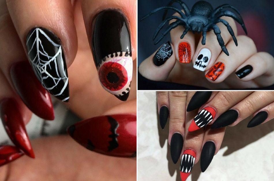 Top 10 DIY Halloween Nail Art Ideas , FlawlessEnd