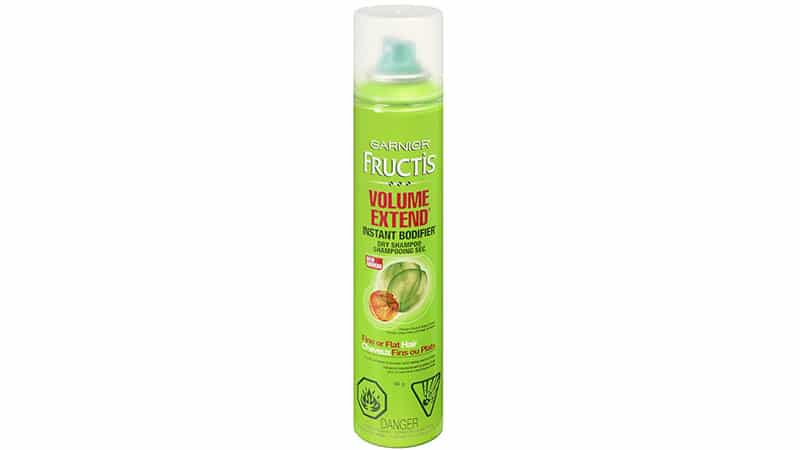 Garnier Fructis Volume Extend Instant Bodifier Dry Shampoo for Fine or Flat Hair