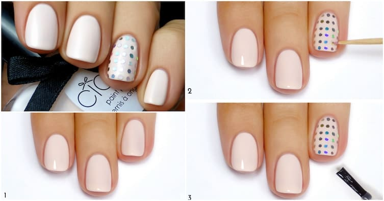 Some Cute Wedding Nail Designs To Prepare You For Your Big Day 1
