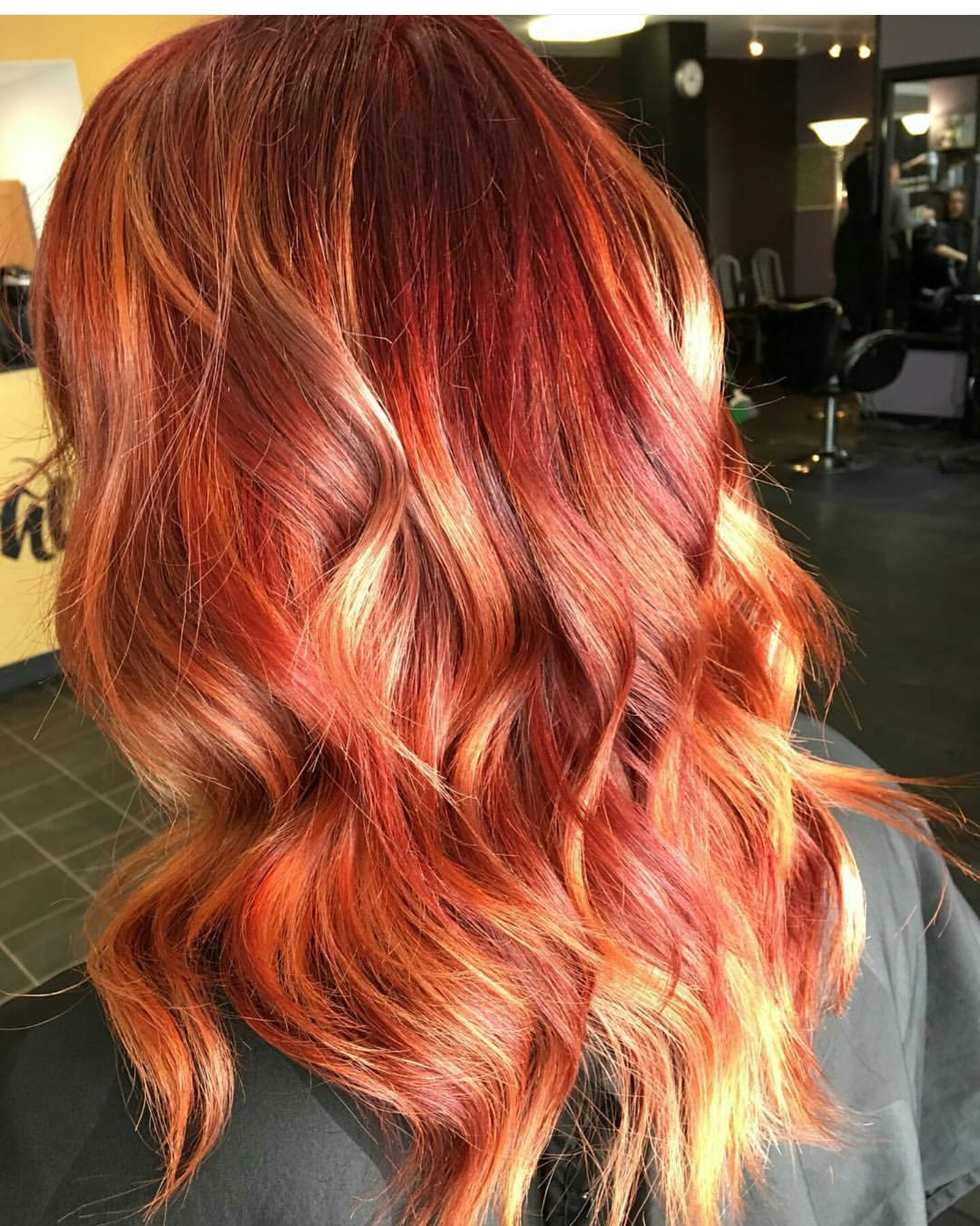 Brown Yellow Hair Color Ideas