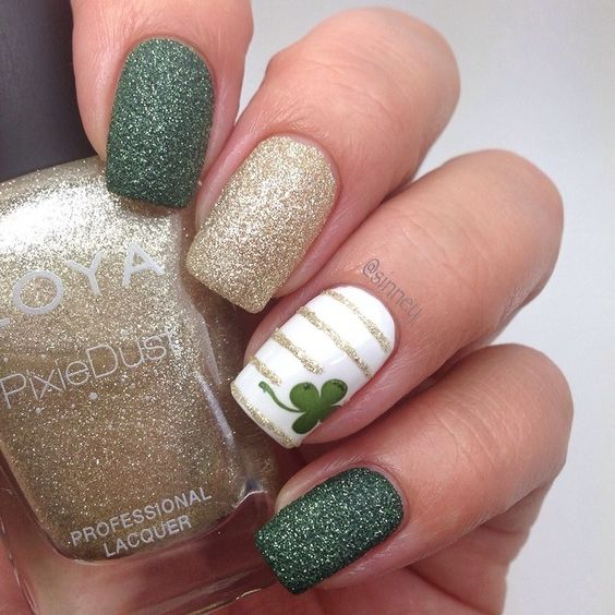 The Best St Patricks Day Nail Designs You Will Love To Copy