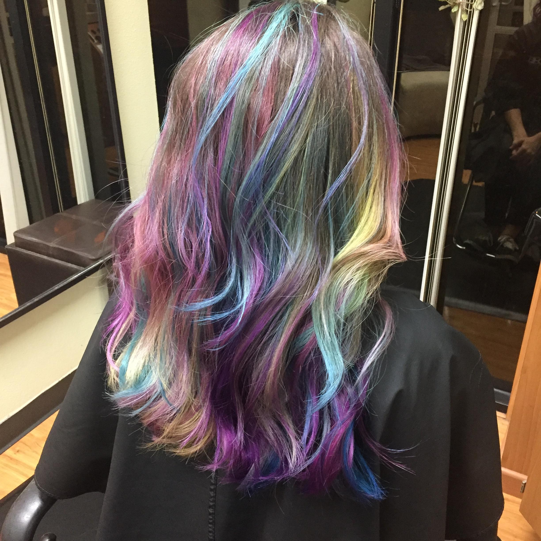 Muilti Color Hair Ideas