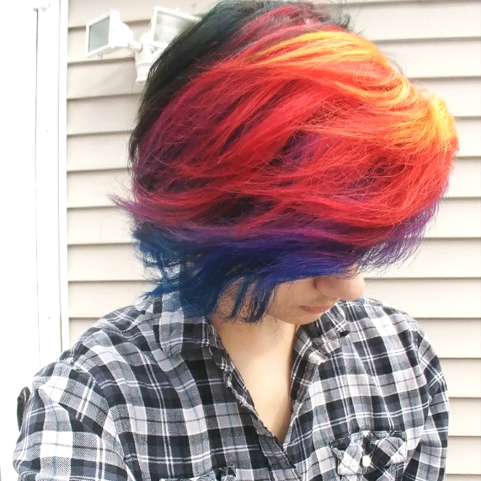 Sunset Hair Color Style