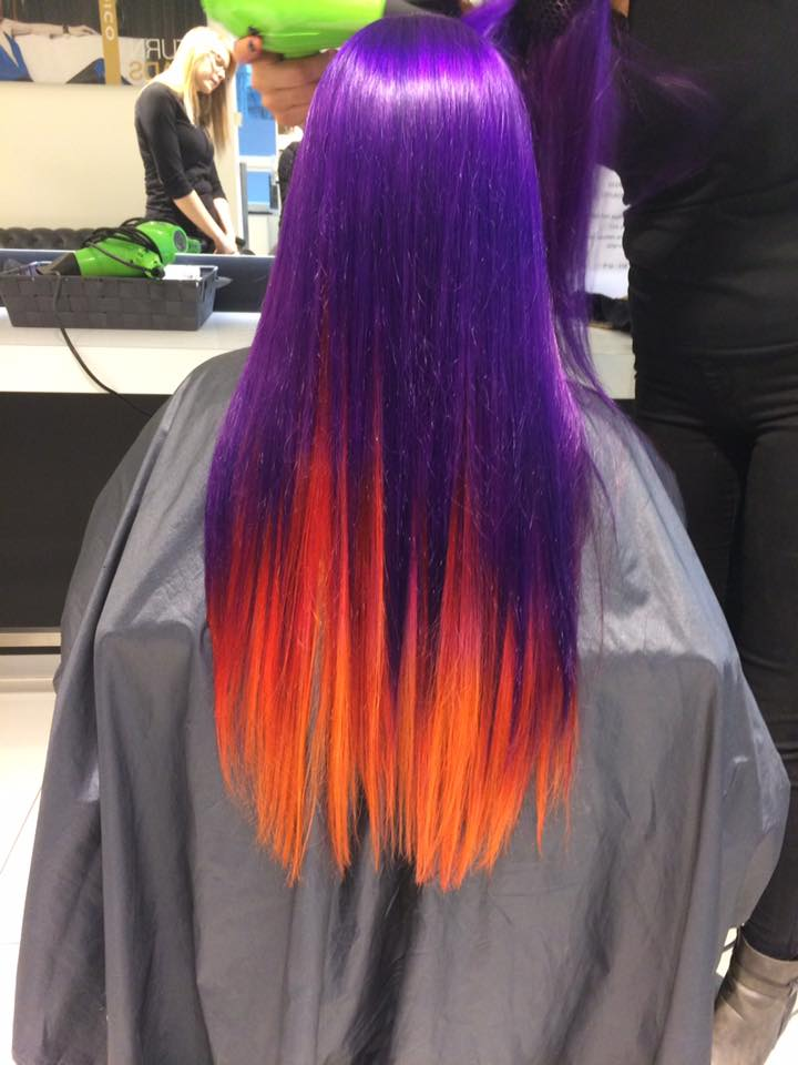 Sunset Done Hair COlor Ideas