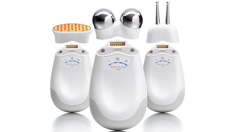 Facial Toning Device Treatment for Under-Eye Bags