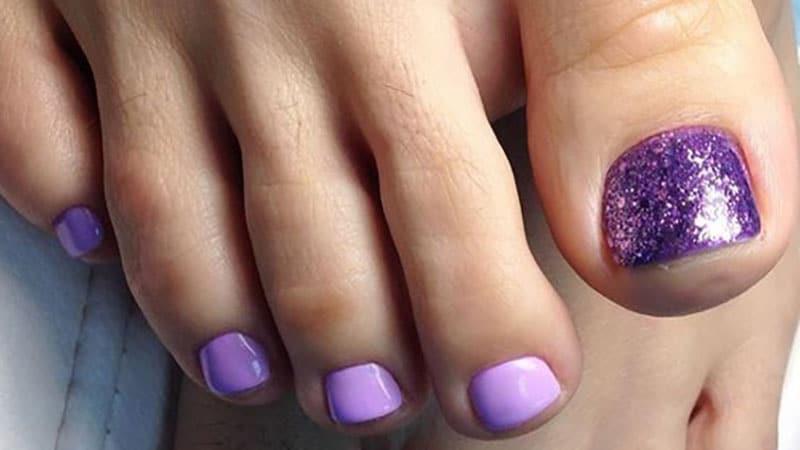 Purple Toenails