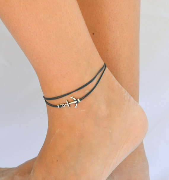 Anchor Shaped Anklet
