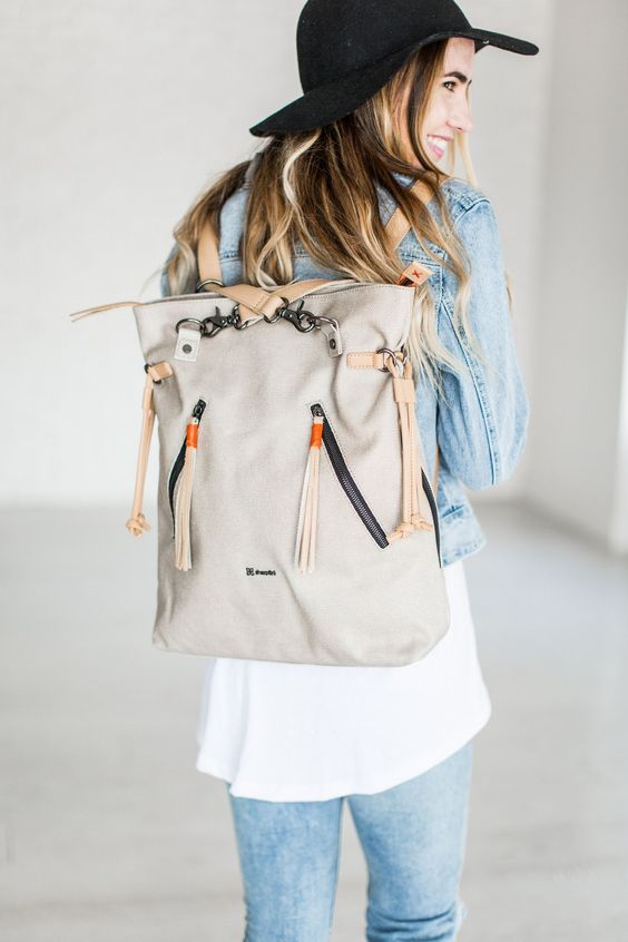 tote backpack