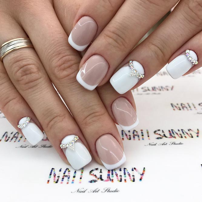 Proven Classics French Nails and Rhinestones picture 2