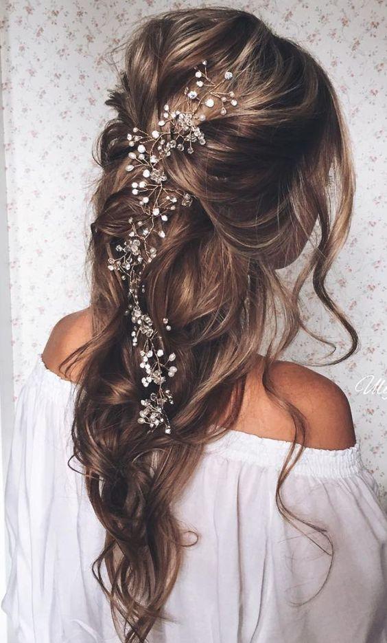 diamond hair accesory