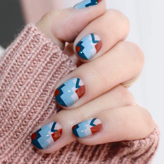 Simple and Spectacular Geometric Nail Art
