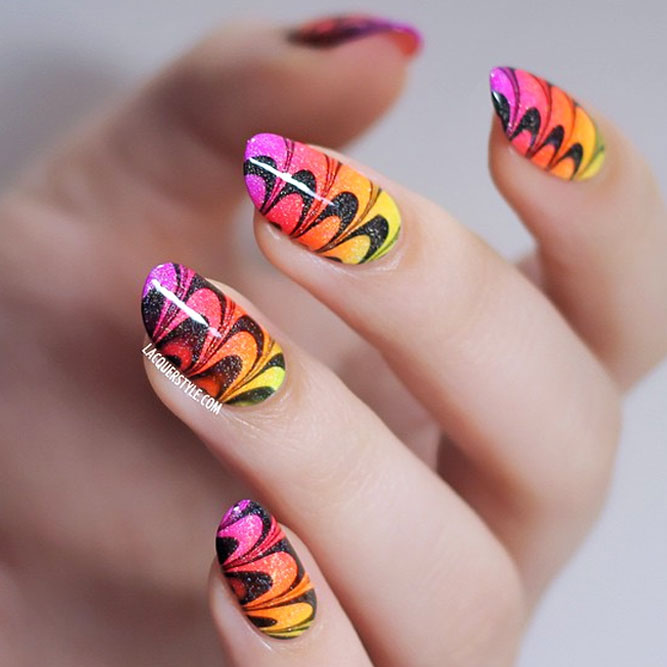 Water Marble and Swirls