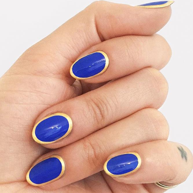 Trendy Idea Framed Nails