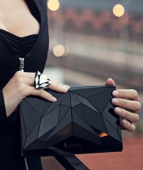 graphic handbag