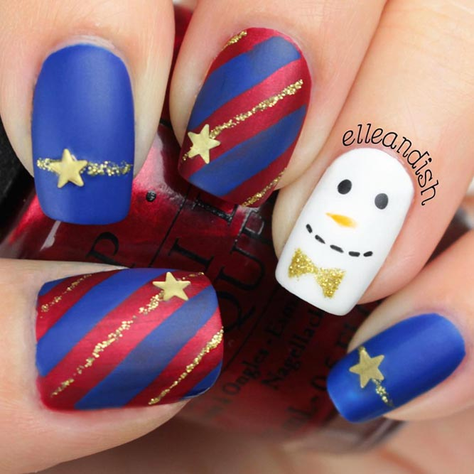 Holiday Star Nails picture 1