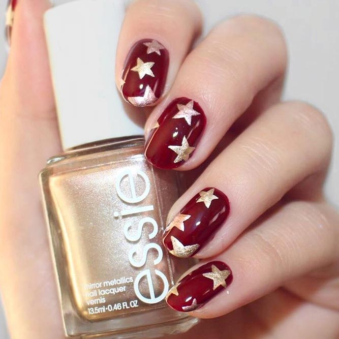 Holiday Star Nails picture 2