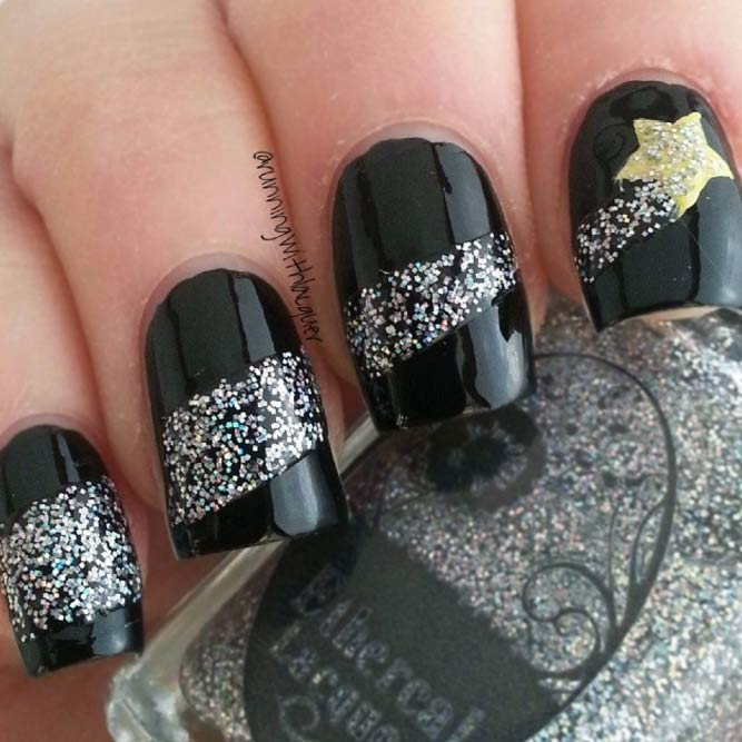 Charming Shooting Star Nails picture 2