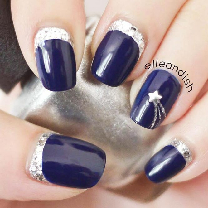 Charming Shooting Star Nails picture 3