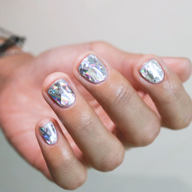 Diamond Nail Designs for a Stunning Effect picture 2