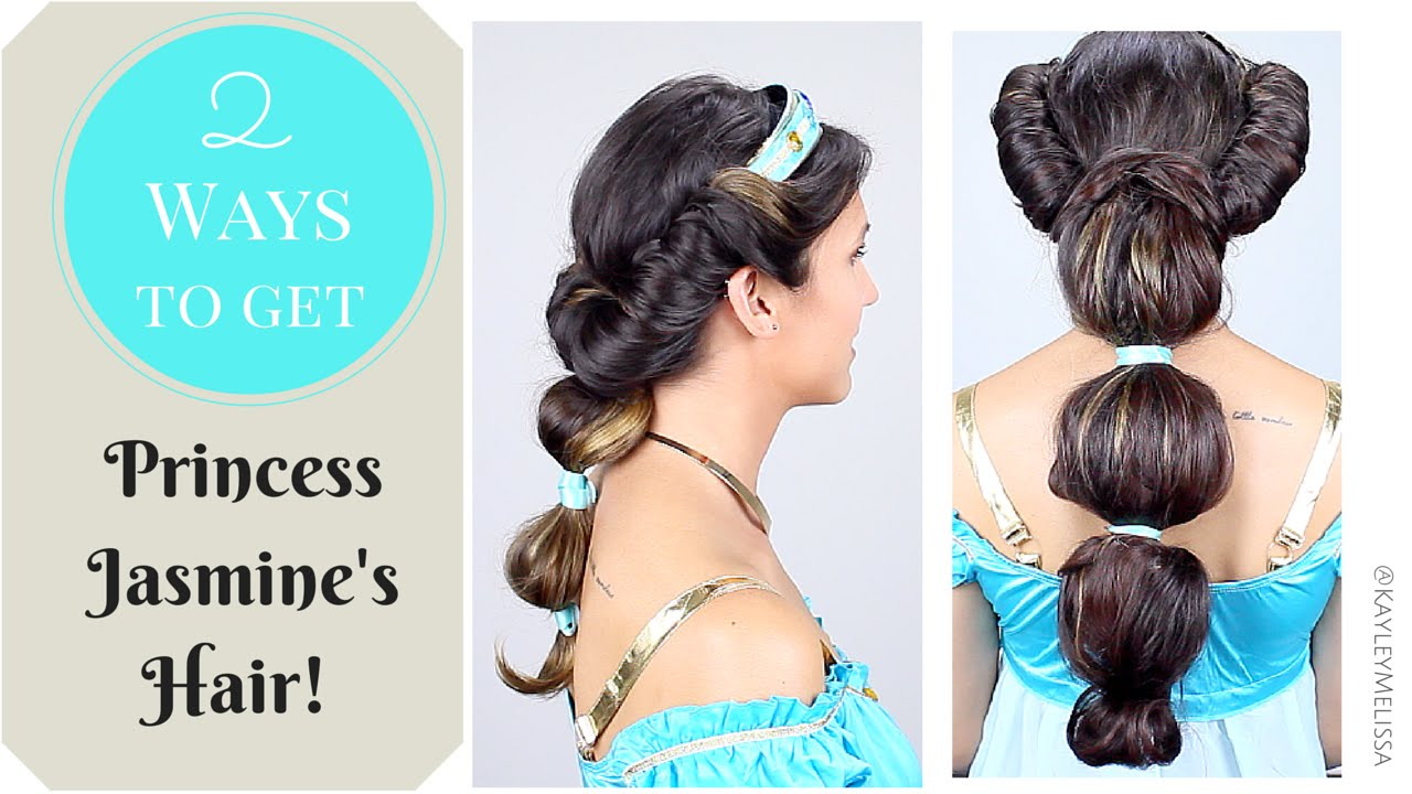 2 Ways To Get Princess Jasmine S Hair Flawlessend