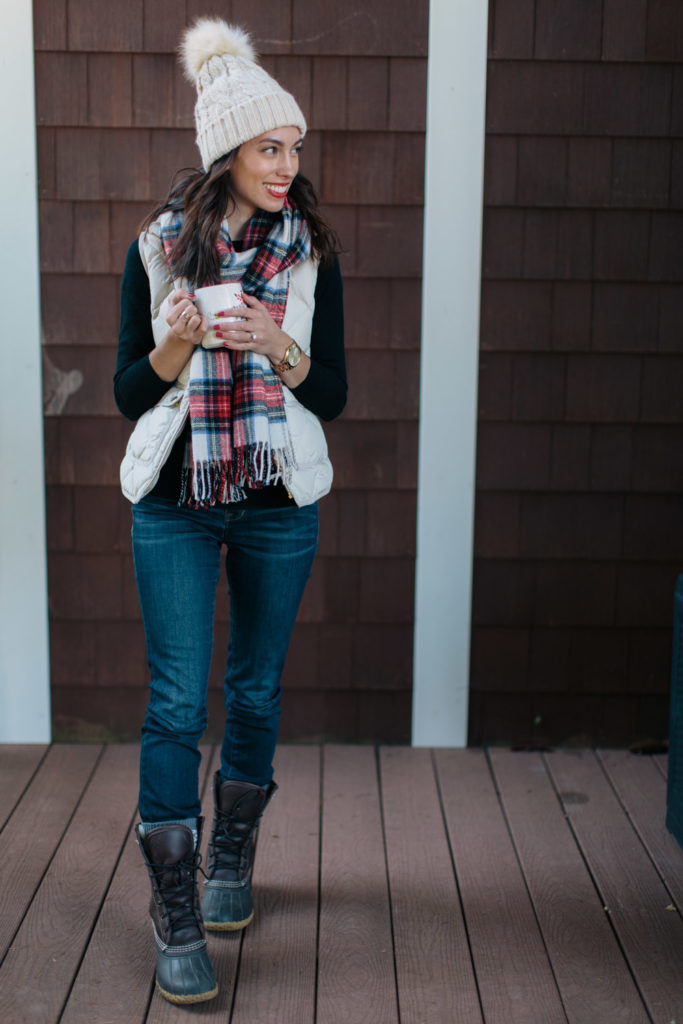 holiday style-tartan scarf-wellesley and king-@wellesleynking